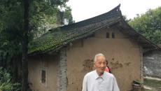 """""""跨越历史的相遇""""抗战老兵探访活动在陕西举行"""